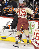 Matt Carle, Brandan Kushniruk - The Princeton University Tigers defeated the University of Denver Pioneers 4-1 in their first game of the Denver Cup on Friday, December 30, 2005 at Magness Arena in Denver, CO.