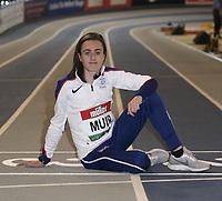 2020 Muller Indoor Grand Prix Athletics Photocall Glasgow Feb 14th