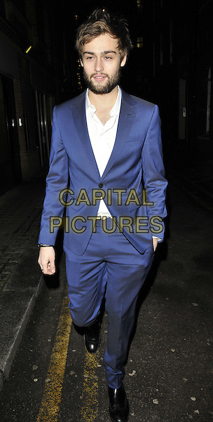 LONDON, ENGLAND - JANUARY 08: Douglas Booth attends the Anya Hindmarch &amp; Dylan Jones dinner to mark the end of the London Collections: Men a/w 2014 season, Hakkasan bar &amp; restaurant, Hanway Place, on Wednesday January 08, 2014 in London, England, UK.<br /> CAP/CAN<br /> &copy;Can Nguyen/Capital Pictures
