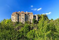 France, Creuse (23), Boussac, château de Boussac // France, Creuse, Boussac, Boussac Castle