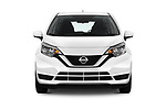 Car photography straight front view of a 2018 Nissan Versa Note S 5 Door Hatchback