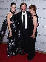 April 11, 2019 - Beverly Hills, California - Camilla Belle and Nigel Lythgoe and Julie Whittaker. Los Angeles Ballet Gala 2019 held at The Beverly Hilton Hotel. Photo Credit: Billy Bennight/AdMedia