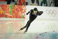 OLYMPICS: SOCHI: Adler Arena, 08-02-2014, 5000 m Men, Emery Lehman (USA), ©foto Martin de Jong