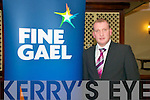 Fine Gael Convention : Cllr Liam Galvin, Fine Gael, from Abbeyfeale.