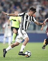 Calcio, Serie A: Torino, Allianz Stadium, 23 settembre 2017. <br /> Juventus' Paulo Dybala in action during the Italian Serie A football match between Juventus and Tori0i at Torino's Allianz Stadium, September 23, 2017.<br /> UPDATE IMAGES PRESS/Isabella Bonotto
