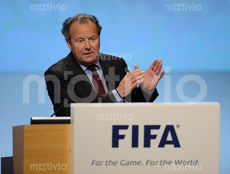 Fussball International  62. FIFA  Kongress in Budapest 2012    25.05.2012 Der renommierte Governance-Experte Prof. Dr. Mark Pieth (Vorsitzender der unabhaengigen Kommission fuer Governance)