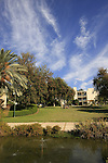 Israel, Southern Coastal Plain. The Faculty of Agriculture of the Hebrew University in Rehovot.