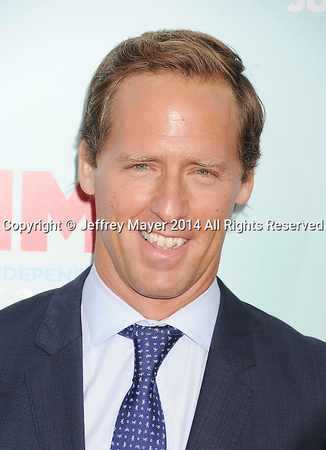 HOLLYWOOD, CA- JUNE 30: Actor Nat Faxon arrives at the 'Tammy' - Los Angeles Premiere at TCL Chinese Theatre on June 30, 2014 in Hollywood, California.