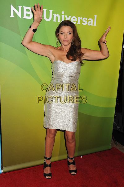 14 July 2014 - Beverly Hills, California - Kari Wuhrer. NBC Universal Press Tour Summer 2014 - Day 2 held at the Beverly Hilton Hotel. <br /> CAP/ADM/BP<br /> &copy;Byron Purvis/AdMedia/Capital Pictures