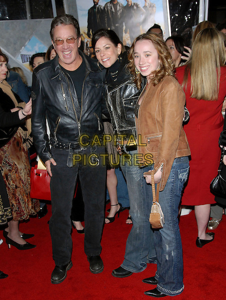 "TIM ALLEN & FAMILY.attends The Touchstone Pictures' World Premiere of ""Wild Hogs"" held at The El Capitan Theatre in Hollywood, California, USA, February 27 2007. .full length.CAP/DVS.©Debbie VanStory/Capital Pictures"