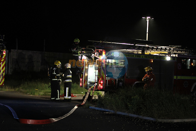 Nobody injured in fire in an empty Apartment, Duleek, Co.Meath..(Photo credit should read Jenny Matthews www.newsfile.ie)....This Picture has been sent you under the conditions enclosed by:.Newsfile Ltd..The Studio,.Millmount Abbey,.Drogheda,.Co Meath..Ireland..Tel: +353(0)41-9871240.Fax: +353(0)41-9871260.GSM: +353(0)86-2500958.email: pictures@newsfile.ie.www.newsfile.ie.