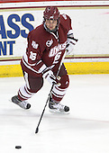Eddie Olczyk (UMass - 16) - The Boston College Eagles defeated the University of Massachusetts-Amherst Minutemen 2-1 (OT) on Friday, February 26, 2010, at Conte Forum in Chestnut Hill, Massachusetts.