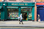Asian Food shop in city centre of Dublin, Ireland, Irish republic