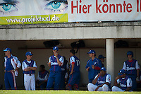 Baseball - 2009 European Championship Juniors (under 18 years old) - Bonn (Germany) - 04/08/2009 - Day 2 - Team France dugout