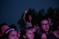 MEXICALI, MEXICO - June 8  Fans on the Tecate Location June 8, 2019 in Mexicali, Mexico.<br /> Tecate Location Mexicali 2019 is one of the main music festivals nationwide and in the state, Band line up<br /> CAIFANES, CAMILO VII, DRAKE BELL, LNG / SHT, SERBIA<br /> (Photo by Luis Boza/VIEWpress)
