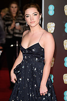 Florence Pugh<br /> arriving for the BAFTA Film Awards 2018 at the Royal Albert Hall, London<br /> <br /> <br /> ©Ash Knotek  D3381  18/02/2018