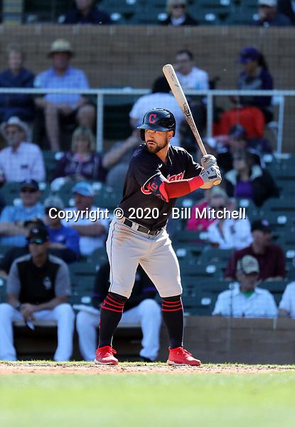 Ka'ai Tom - Cleveland Indians 2020 spring training (Bill Mitchell)
