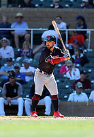 Ka'ai Tom - Cleveland Indians 2020 spring training (Bill Mitchell)