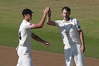 Graham Onions of Lancashire celebrates taking the wicket of Tom Westley during Lancashire CCC vs Essex CCC, Specsavers County Championship Division 1 Cricket at Emirates Old Trafford on 11th June 2018