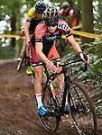 2017-09-16 / Veldrijden / Seizoen 2017-2018 / Junioren Vorselaar / Vince Van den Eynde<br /> <br /> ,Foto: Mpics.be