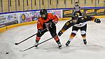09.01.2020, BLZ Arena, Füssen / Fuessen, GER, IIHF Ice Hockey U18 Women's World Championship DIV I Group A, <br /> Japan (JPN) vs Deutschland (GER), <br /> im Bild Ami Sasaki (JPN, #14), Leonie Massner (GER, #12)<br /> <br /> Foto © nordphoto / Hafner