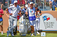 Brooks Koepka (USA) waits to tee off on 17 during round 4 of the Valero Texas Open, AT&amp;T Oaks Course, TPC San Antonio, San Antonio, Texas, USA. 4/23/2017.<br /> Picture: Golffile | Ken Murray<br /> <br /> <br /> All photo usage must carry mandatory copyright credit (&copy; Golffile | Ken Murray)
