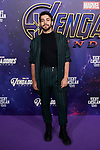 Agoney attends to Avengers Endgame premiere at Capitol cinema in Madrid, Spain. April 23, 2019. (ALTERPHOTOS/A. Perez Meca)