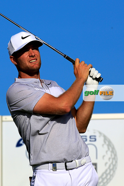 Lucas Bjerregaard (DEN) during the second round of the Lyoness Open powered by Organic+ played at Diamond Country Club, Atzenbrugg, Austria. 8-11 June 2017.<br /> 09/06/2017.<br /> Picture: Golffile   Phil Inglis<br /> <br /> <br /> All photo usage must carry mandatory copyright credit (&copy; Golffile   Phil Inglis)