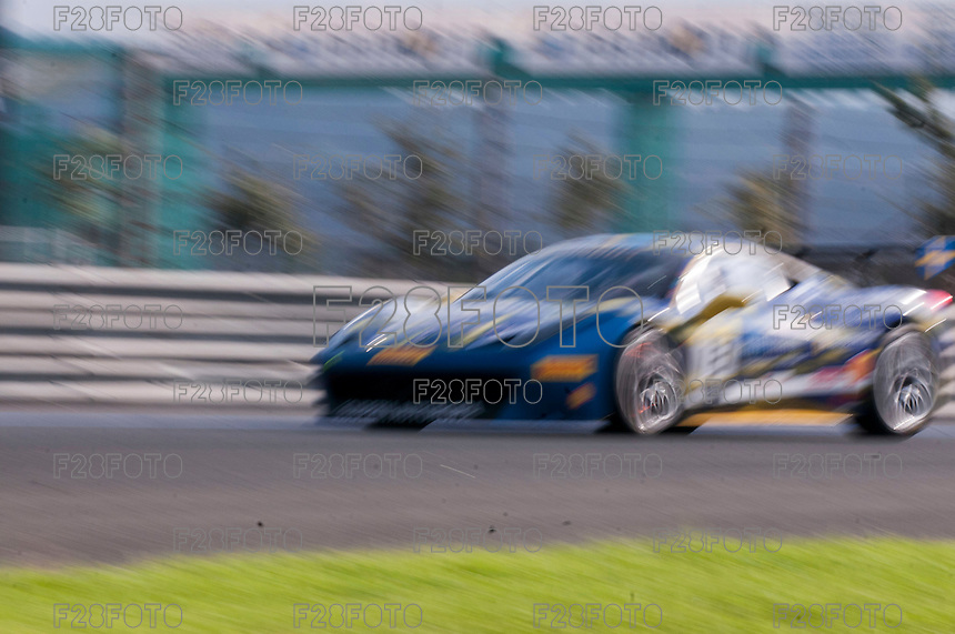 VALENCIA, SPAIN - OCTOBER 2: Martin Nelson during Valencia Ferrari Challenge 2015 at Ricardo Tormo Circuit on October 2, 2015 in Valencia, Spain