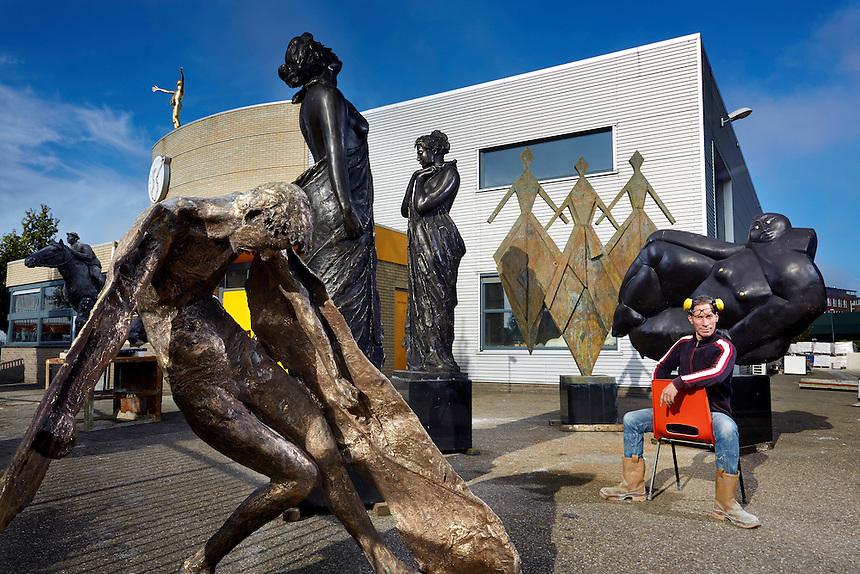 Bronsgieterij Hans Steylaaert in Waardenburg