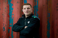 2017 01 26 Ospreys rugby player Sam Underhill at Llandarcy Academy of Sports, Wales, UK