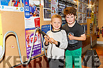 At the IT Tralee Kerry Science Festival on Saturday were Dwayne Conway and Kai Kelleher