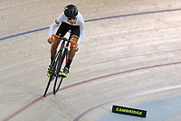 Jaxson Russell of  Waikato BOP competes in the U15 Boys 500m Time Trial at the Age Group Track National Championships, Avantidrome, Home of Cycling, Cambridge, New Zealand, Wednesday, March 15, 2017. Mandatory Credit: © Dianne Manson/CyclingNZ  **NO ARCHIVING**