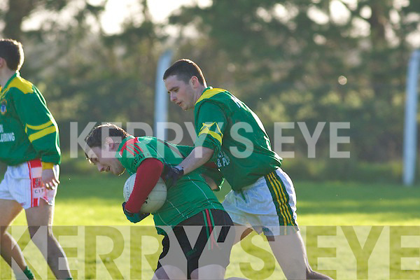 Finuge v Beale  in their North Kerry semi-final at Ballylongford on Sunday.   Copyright Kerry's Eye 2008