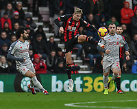 Bournemouth's David Brooks (centre)<br /> <br /> Photographer David Horton/CameraSport<br /> <br /> The Premier League - Bournemouth v Liverpool - Saturday 8th December 2018 - Vitality Stadium - Bournemouth<br /> <br /> World Copyright © 2018 CameraSport. All rights reserved. 43 Linden Ave. Countesthorpe. Leicester. England. LE8 5PG - Tel: +44 (0) 116 277 4147 - admin@camerasport.com - www.camerasport.com