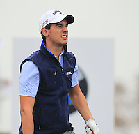 Matteo Manassero (ITA) tees off the 2nd tee during Thursday's Round 1 of the 2014 BMW Masters held at Lake Malaren, Shanghai, China 30th October 2014.<br /> Picture: Eoin Clarke www.golffile.ie