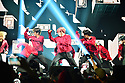 CORAL GABLES, FL - FEBRUARY 07: South Korean Boy band Stray Kids performs on stage during Stray Kids World Tour 'District 9 : Unlock' in Miami at Watsco Center on February 7, 2020 in Coral Gables, Florida. ( Photo by Johnny Louis / jlnphotography.com )