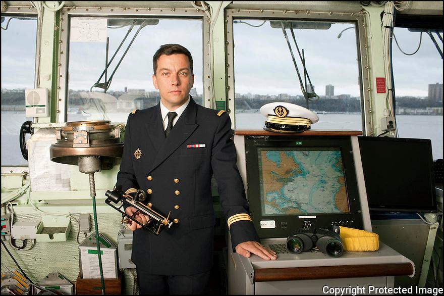LV Benoit Bugaut<br /> Instructeur et officier de manoeuvre.