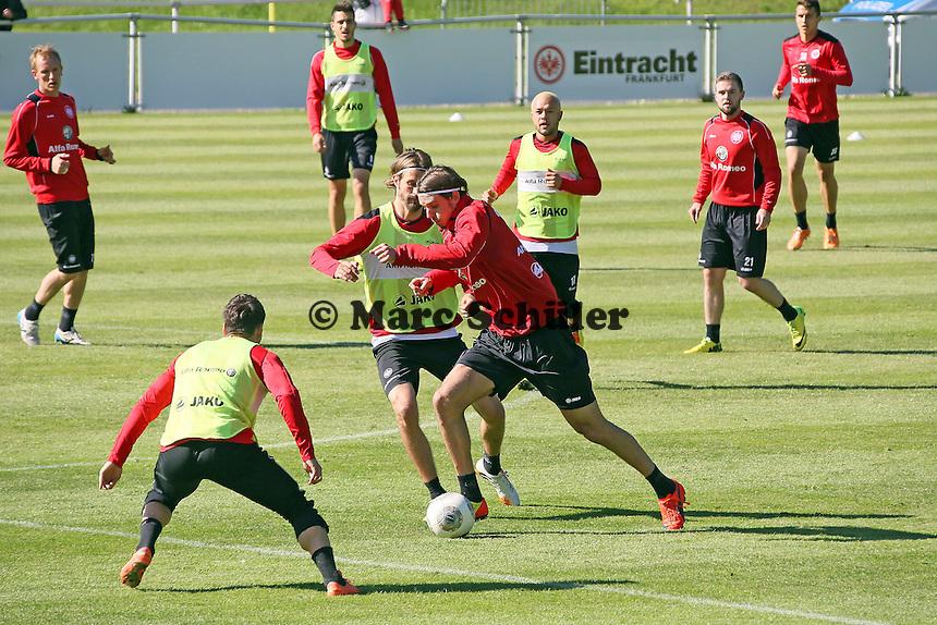Alex Meier und Martin Lanig - Eintracht Frankfurt Training, Commerzbank Arena