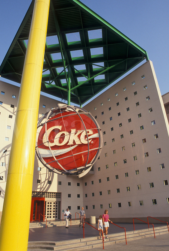 World of Coca-Cola, Atlanta, GA, Georgia, World of Coca-Cola in downtown Atlanta.