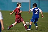 Pukekohe AFC 9th grade football game between Orange Roughies & Papakura Celtic, played at Bledisloe Park Pukekohe on Saturday June 14th 2008.