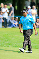 Kiradech Aphibarnrat (THA) on the 11th during round 3 of the 2016 BMW PGA Championship. Wentworth Golf Club, Virginia Water, Surrey, UK. 28/05/2016.<br /> Picture Fran Caffrey / Golffile.ie<br /> <br /> All photo usage must carry mandatory copyright credit (© Golffile   Fran Caffrey)