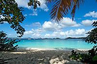 Honeymoon Beach.<br /> Virgin Islands National Park.<br /> St John, US Virgin Islands