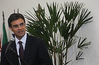 SAO PAULO, SP,16.12.2013 - CIEE  Rodrigo Garcia,  secretário estadual de Desenvolvimento Econômico, Ciência, Tecnologia e Inovação (SDECTI) durante inauguracao do Centro de Capacitação Técnica CIEE no bairro da Mooca na tarde desta segunda-feira. (Foto: Vanessa Carvalho / Brazil Photo Press).