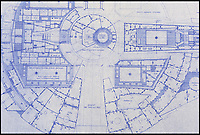 BNPS.co.uk (01202 558833)<br /> Pic: PropStore/BNPS<br /> <br /> Star Wars - Ep V - The Empire Strikes Back: Millennium Falcon External Plan.<br /> <br /> Fascinating blueprints from the early Star Wars and Star Trek films have been unearthed.<br /> <br /> An auction house is selling a selection of blueprints which include front elevations of R2-D2, interior and exterior set renderings of the Millennium Falcon and front, side and bottom views of the USS Enterprise as well as USS Enterprise set plans.<br /> <br /> The blueprints - many of which have never before been seen by the public - provide a unique insight to fans of the iconic films about how they were made.