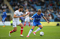 Lee Martin of Gillingham in action during Gillingham vs Portsmouth, Sky Bet EFL League 1 Football at the MEMS Priestfield Stadium on 8th October 2017
