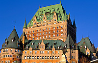 Canada, Quebec, Quebec City. Chateau Frontenac..