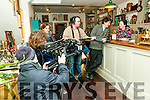 "The Timekeeper : Pictured at the filming of ""The Timekeerer "" at the former Harp & Lion Bar now a antique furniture store in Listowel on Sunday last were cameraman Malachy Willis, producer Noel McElligott, Listowel, actress Margolaine Baudryy, James O'Carroll, Listowel, actor Brian Hayes, Ballyheigue & actress Elaine Kennedy, Dingle."