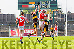 Donal O'Sullivan Rathmore and Eoin Brosnan Dr Crokes in action during their County Championship Q/F in Fitzgerald Stadium on Sunday