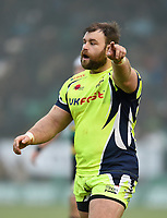 WillGriff John of Sale Sharks. Aviva Premiership match, between Northampton Saints and Sale Sharks on March 3, 2018 at Franklin's Gardens in Northampton, England. Photo by: Patrick Khachfe / JMP